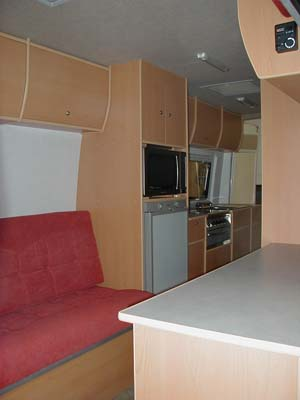 Sprinter kitchen view