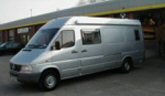 Mercedes Sprinter van picture