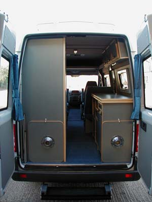 Rainbow Conversions Mercedes Sprinter Motorhome And